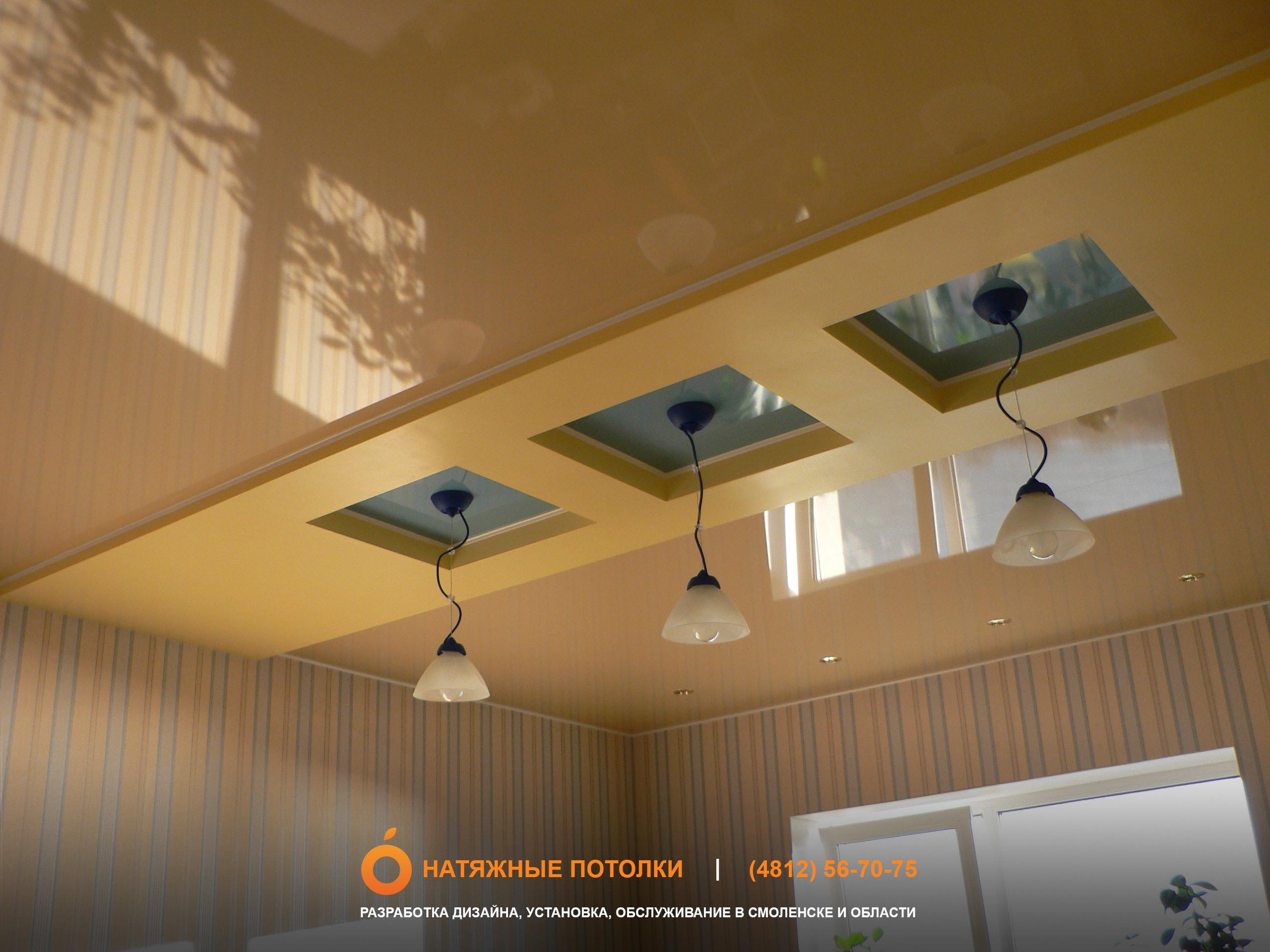 Как Сделать Подвесной Потолок на Кухне Своими Руками 76