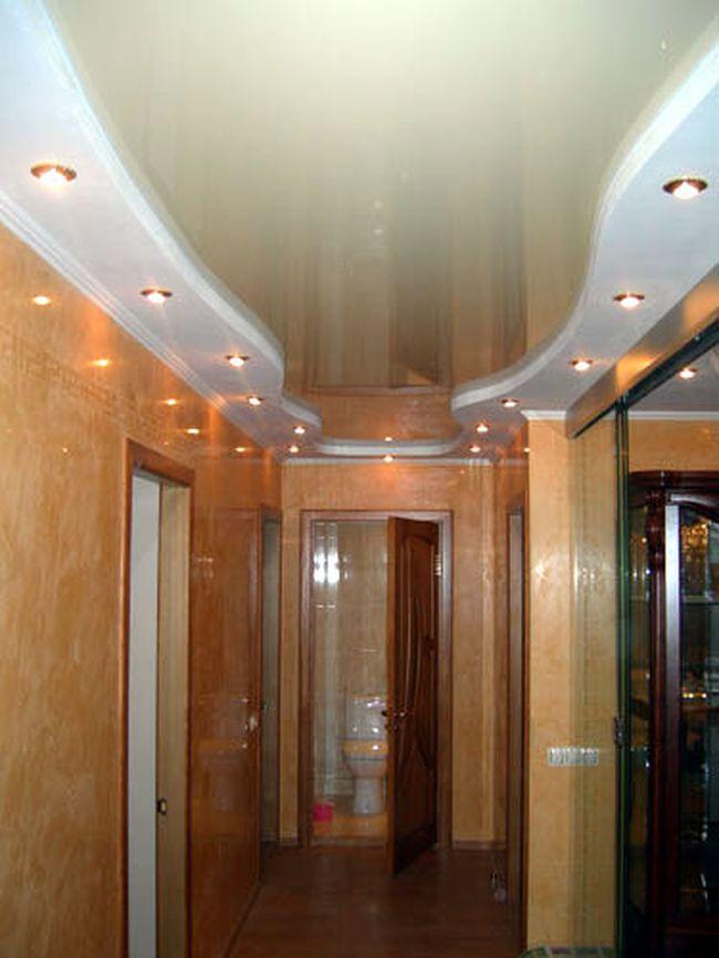 Дизайна потолков в прихожей